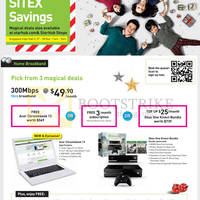 StarHub SITEX 2014 Smartphones, Tablets, Cable TV & Broadband Offers 27 - 30 Nov 2014