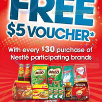 Read more about Nestle Spend $30 & Get Free $5 Voucher 4 - 30 Nov 2014