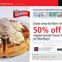 Read more about Gelare 50% OFF Waffles For DBS/POSB Cardmembers (Mondays) 17 Nov 2014 - 23 Feb 2015