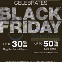 Geox Breathes Black Friday Promo 28 - 30 Nov 2014
