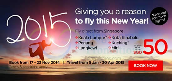 Giving You A Reason To Fly This New Year All-In From SGD50