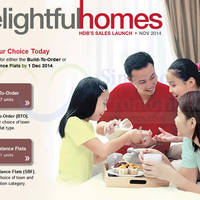 Read more about HDB Launches Nov 2014 SOBF Exercise & Six BTO Projects 25 Nov - 1 Dec 2014
