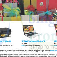 Read more about HP Notebook, AIO Desktop PC & Printer Offers 20 Nov 2014
