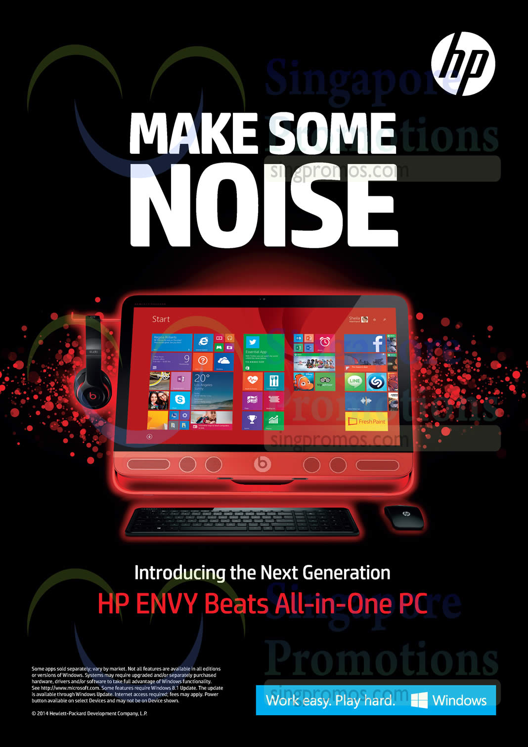 HP Envy Beats AIO Desktop PC
