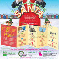 HarbourFront Centre Everyone Can Be Santa Promotions 21 Nov 2014 - 2 Jan 2015