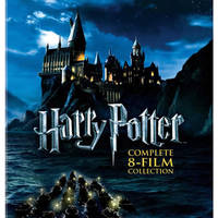 Harry Potter 60% Off Complete 8-Film Blu-ray Collection 24hr Promo 29 - 30 Nov 2014