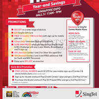 Singtel SITEX 2014 Smartphones, Tablets, Broadband & Mio TV Offers 27 - 30 Nov 2014