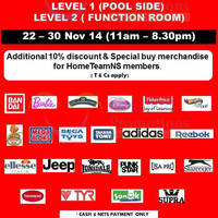 Branded Apparels & Toys Sale @ Bukit Batok 22 - 30 Nov 2014