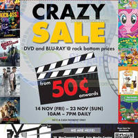 Read more about Innoform Media Blu-Ray & DVD Warehouse Sale 14 Nov - 7 Dec 2014