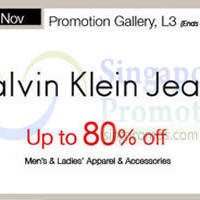 Read more about Calvin Klein Jeans Promo @ Isetan Scotts 21 - 27 Nov 2014