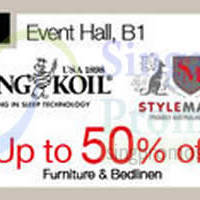 Read more about Isetan Furniture & Bedlinen Sale @ Westgate 6 - 26 Nov 2014