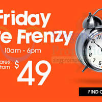 Read more about Jetstar Friday Frenzy Fares From $49 (7hr Promo) 7 Nov 2014