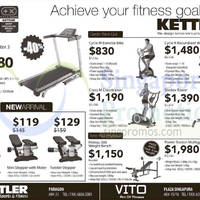 Read more about Kettler Fitness Equipment Offers 7 Nov 2014