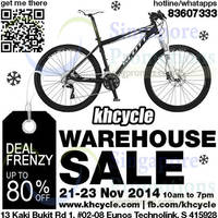 Khcycle Warehouse Sale 21 - 23 Nov 2014