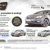 Read more about Kia Forte, Sportage, K5 & Cerato Offers 22 Nov 2014