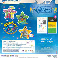 Plaza Singapura Christmas Promotions & Activities 21 Nov - 31 Dec 2014