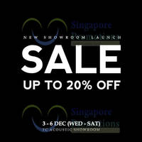 Read more about Tat Chuan Acoustic Sale Up To 20% Off 3 - 6 Dec 2014
