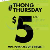 Read more about La Senza Cotton Thongs & G-Strings 1-Day Promo 13 Nov 2014