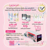 Lactacyd Watsons on Wheels Promo 1 - 2 Nov 2014