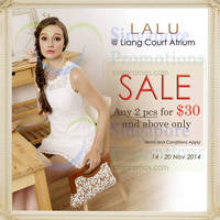 Read more about Lalu Atrium Event @ Liang Court 14 - 20 Nov 2014