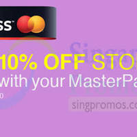 Read more about Lazada 10% OFF Storewide With MasterPass 3 Dec 2014
