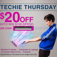 Read more about Lazada Singapore $20 OFF Tech Products 1-Day Coupon Code 20 Nov 2014