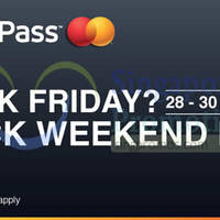 Lazada $20 OFF Storewide With MasterPass Black Friday Promo 28 - 30 Nov 2014