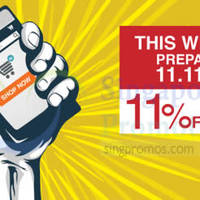 Read more about Lazada Singapore 11% OFF Coupon Code 7 - 9 Nov 2014