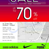 Read more about Link THM Warehouse SALE Up To 70% OFF 12 - 16 Nov 2014