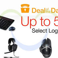 Logitech Up To 55% OFF 24hr Promo 23 - 24 Nov 2014