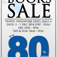 MPH Bookstores Books SALE @ Singapore Expo 5 - 7 Dec 2014