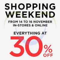 Read more about Mango 30% Off Storewide Sale 14 - 16 Nov 2014