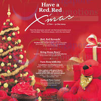 Marina Bay Link Mall Red, Red Xmas 17 Nov - 31 Dec 2014