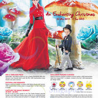 Marina Square Christmas Promotions 20 Nov 2014 - 4 Jan 2015
