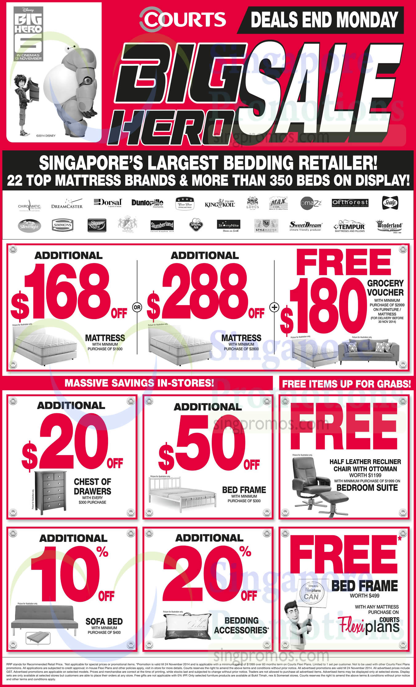 Mattresses, Bed Frames, Sofa Beds, Bedroom Suites, Dunlopillo, Fourstar, King Koil, Maxcoil, Sealy, Silentnight, Simmons, Spring Air, Stylemaster