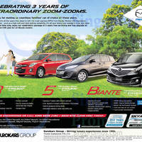 Read more about Mazda 8, Mazda 5 & Mazda Biante Offers 1 Nov 2014