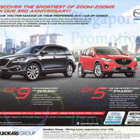 Read more about Mazda CX-9 & CX-5 Offers 15 Nov 2014