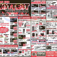 Read more about Mega Discount Store TVs, Appliances & Gas Hob Offers 16 - 17 Nov 2014