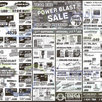 Mega Discount Store TVs, Appliances & Gas Hob Offers 22 - 23 Nov 2014