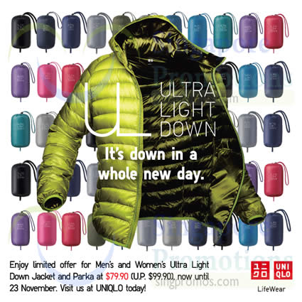 Men Women Ultra Light Down Jacket