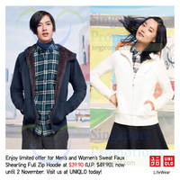 Uniqlo Islandwide Limited Offers 31 Oct - 2 Nov 2014