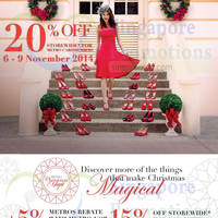 Read more about Metro 15% OFF Storewide Promo 6 - 9 Nov 2014