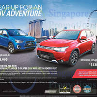 Read more about Mitsubishi ASX & Outlander Offers 22 Nov 2014