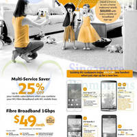 M1 Smartphones, Tablets & Home/Mobile Broadband Offers 1 - 7 Nov 2014