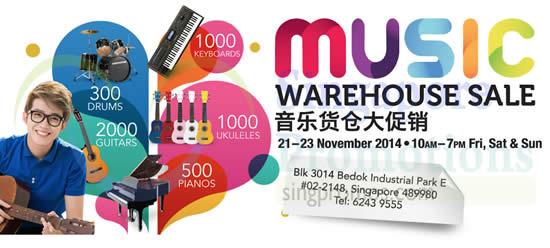 Music Warehouse Sale 13 Nov 2014