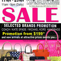 Read more about MyBagEmpire Branded Handbags & Accessories Sale @ Jurong Point 17 - 23 Nov 2014