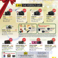 Nikon Digital Cameras Christmas Promo Offers 21 Nov 2014 - 4 Jan 2015