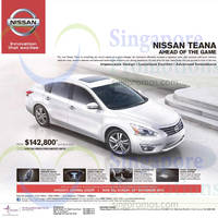 Read more about Nissan Teana Price & Features 29 Nov 2014