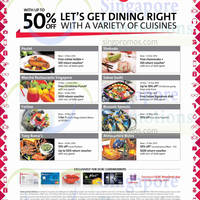 Read more about OCBC Up To 50% OFF Dining Privileges 13 Nov 2014