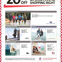 Read more about OCBC Up To 20% OFF Royal Sporting House & More 14 Nov - 31 Dec 2014